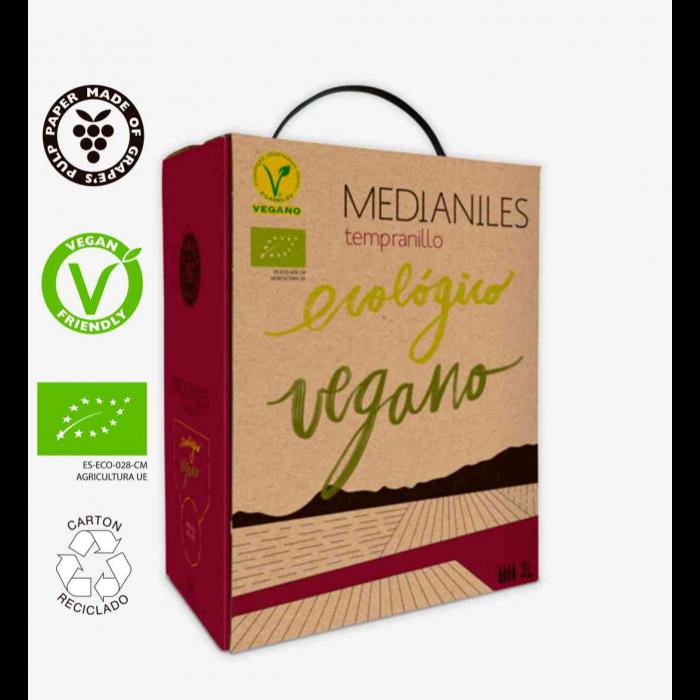 Medianiles Tempranillo Bag in Box 3 L (Lote de 3 unidades)